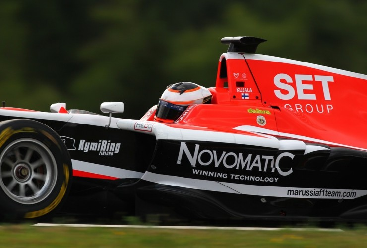 SET Group supporting Finnish GP3 driver